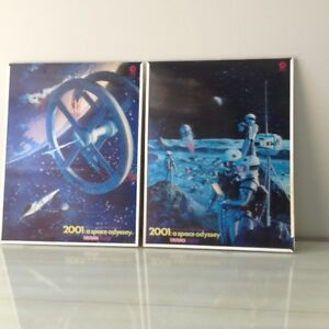 2001: Space Odyssey lenticular vintage posters 1968