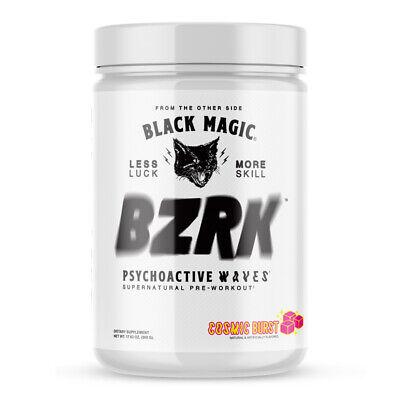 Black Magic BZRK Pre-Workout 25 Servings - Choose Flavor