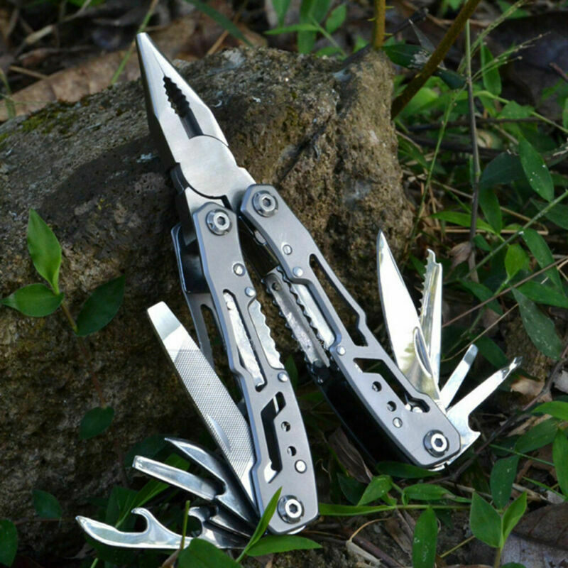 Survival Plier Multi Tool Outdoor Camping Knives Folding Poc