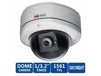 ACTi KCM-7111 Outdoor 4MP Fixed Dome Security Camera - 4MP, RRP £591