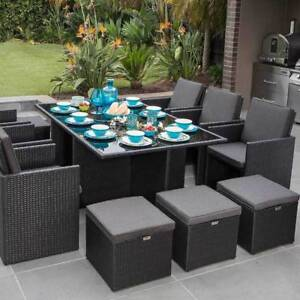 Outdoor Living Seaside 13 Piece Dining Setting (New)