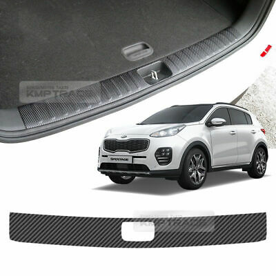 Carbon Trunk Inside Bumper Protector Decal Sticker for KIA 2017-18 Sportage QL