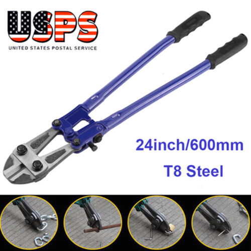 "24"" inch Bolt Cutter Heavy Duty Jaws FOR Chain Wire Fence Re"