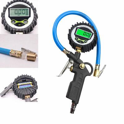 Druckluft Reifenfüller geeicht Reifenfüllpistole Manometer Auto Reifen 18 bar DE