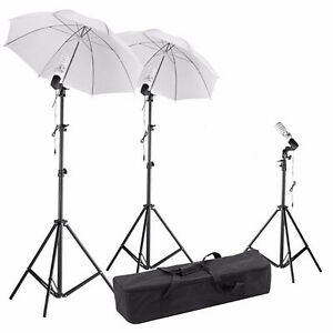 Photo Studio Video Umbrella Light Lighting Stand Kit Éclairage Québec City Québec image 1