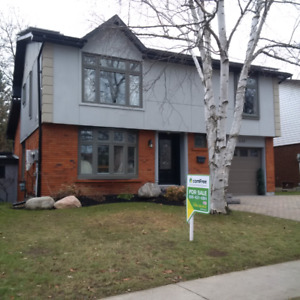 Executive Home in Oshawa For Short Term Lease (furnished)
