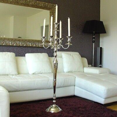 Silber Leuchter Kerzenleuchter Kerzenständer 120 cm vernickelt  kronleuchter NEU