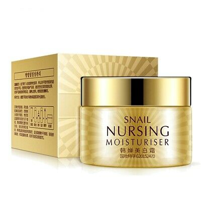 BEST KOREAN Snail Moisturizer Day Night Cream Whitening Anti Aging Wrinkle