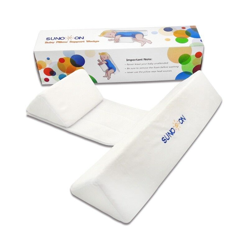 Baby Sleep pillow, Infant Support Wedge, Adjustable, 0-6 months.