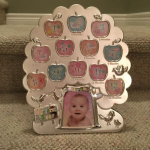 My 1st Year Baby Photo Frame Picture Display 12 Months Birthday