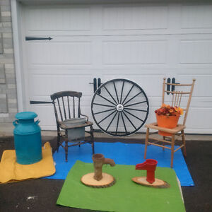ANTIQUE CHAIRS For POTS, + MORE* See EACH PRICE