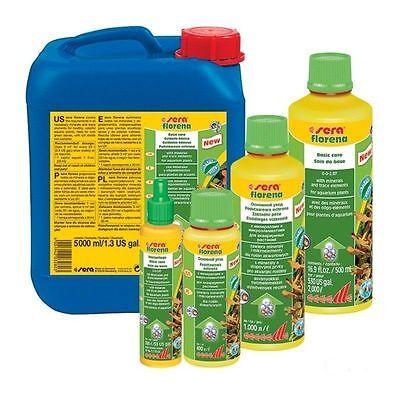 Sera Florena Ml.250 Ml.500 Litri 5 Fertilizzante liquido per piante acquario