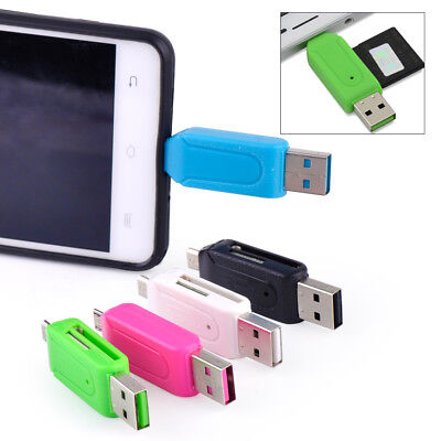 Sd-micro-karte (Mini Kartenlesegerät USB Handy Smartphone SD Micro Karte Cardread Speicherkarten)