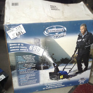 Snow blower - Reduced price - Only $80.00