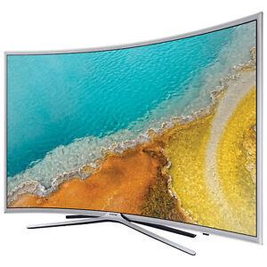 """Samsung 49"""" 1080p Curved LED Smart TV (UN49K6250AFXZC) Mint +Box"""