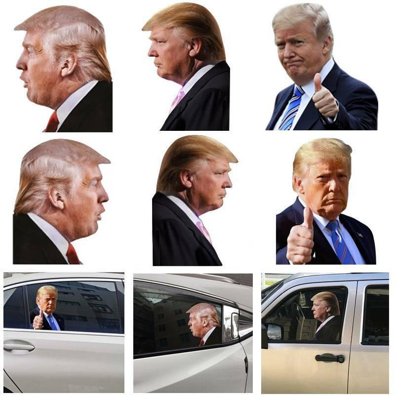 Home Decoration - Donald Trump 2020 President Car Sticker Life Person Size Passenger Side Window