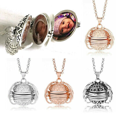 New Angel Wings Expanding 4-5 Locket Photo Necklace Pendant Jewelry Decor Gift - Angel Wing Decorations