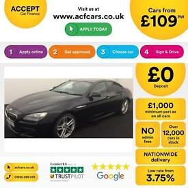 BMW 640 M Sport FROM £109 PER WEEK!