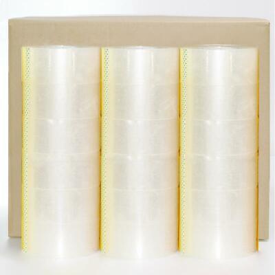 36 Rolls Carton Sealing Clear Packing Shipping Box Tape -2 Mil- 1.9 X 110 Yards