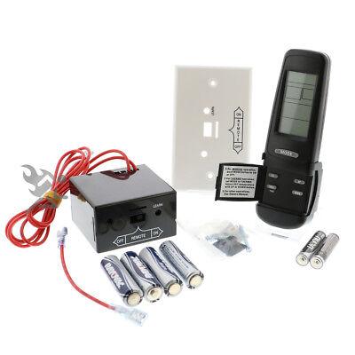 Skytech Smart Batt III Heat-n-Glo Fireplace Thermostat Timer Remote Control