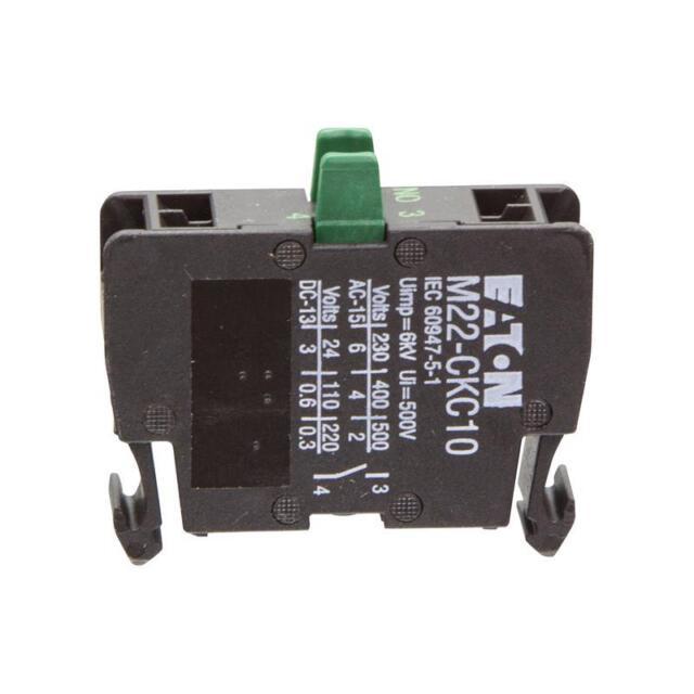 Kontaktelement Eaton 216386 - M22-CKC10 Bodenbefestigung 1 x Schließer