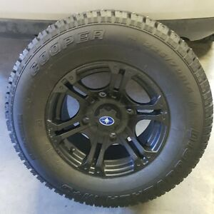 Polaris Ranger or RZR 14 X 7 rims and studded winter tires