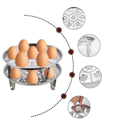Instant Pot Accessories Stainless Steel Egg Steamer Rack for