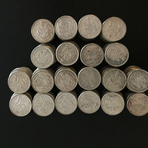 silver fifty cent coins
