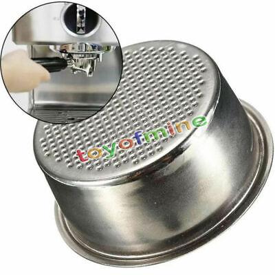 1Set 2 Cup Coffee Filter Basket Non Pressurized For Breville Delonghi Krups US ()