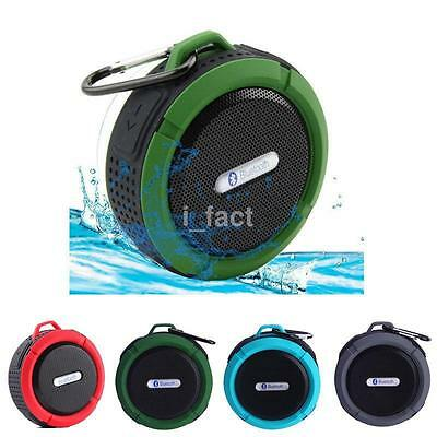 Sport Wireless Bluetooth Speaker Waterproof Small Shower For iPhone Tablet PC