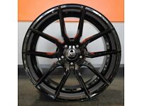 """20"""" Staggered AVA 304 Wheels & Tyres for a BMW 3 Series and 4 Series"""
