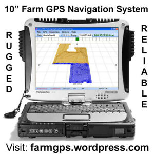 GPS navigation guidance system for farming auto steer capable