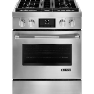 """Jenn-Air JDRP430WP 30"""" Pro-Style Dual-Fuel Range with MultiMode"""