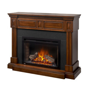 Electric Fireplace Mantel Package....$450.