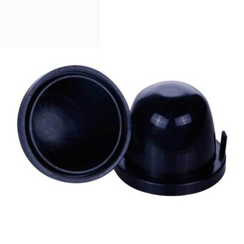 1pcs 85mm Black Rubber Housing Seal Dust Cap Protect Cover For LED HID Headlight