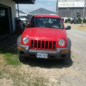 2003 Jeep Liberty four door standard