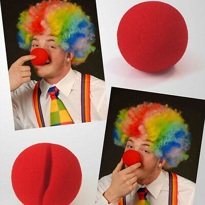 Wizard Nose Halloween (10X Party Sponge Ball Red Clown Magic  Nose for Halloween Party Masquerade N)