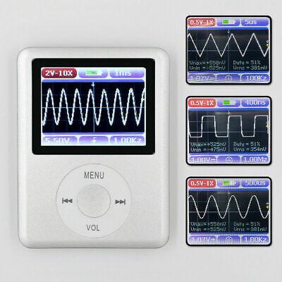 Dso Nano Mini Digital Oscilloscope 20m Bandwidth 100msps Sampling 1.8 Inch Lcd