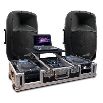 DJ Sound System   PA Musikanlage   CORE SCRATCH 2018 Trolley Case   Ready-To-Go! Dj-sound-system