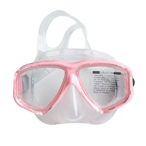 Standard-Pink-Scuba-Diving-Goggles