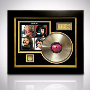 RARE-T Exclusive Limited Edition GOLD LP 'BEATLES - LET IT BE'