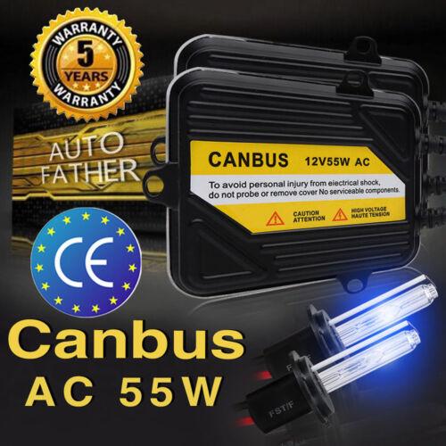 Car Parts - 2x H7 55W AC Hid Xenon Car Headlight Kit Canbus Error Free 5000/6000/8000/10000K