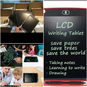 Educational drawing and writing tablets for kids
