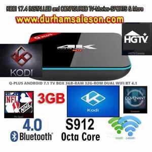 Android Smart TV *FREE iPTV* KODI 17.4 Sports TV shows Movies