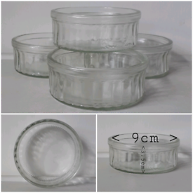 ALL 4 GLASS DISHES for £1