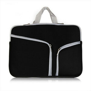 soft Fabric Zipper Sleeve Bag Handy For MacBook MacAir laptop