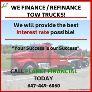 Tow Truck/Flat Bed/Highway Tractor/Trailer Financing & Leasing