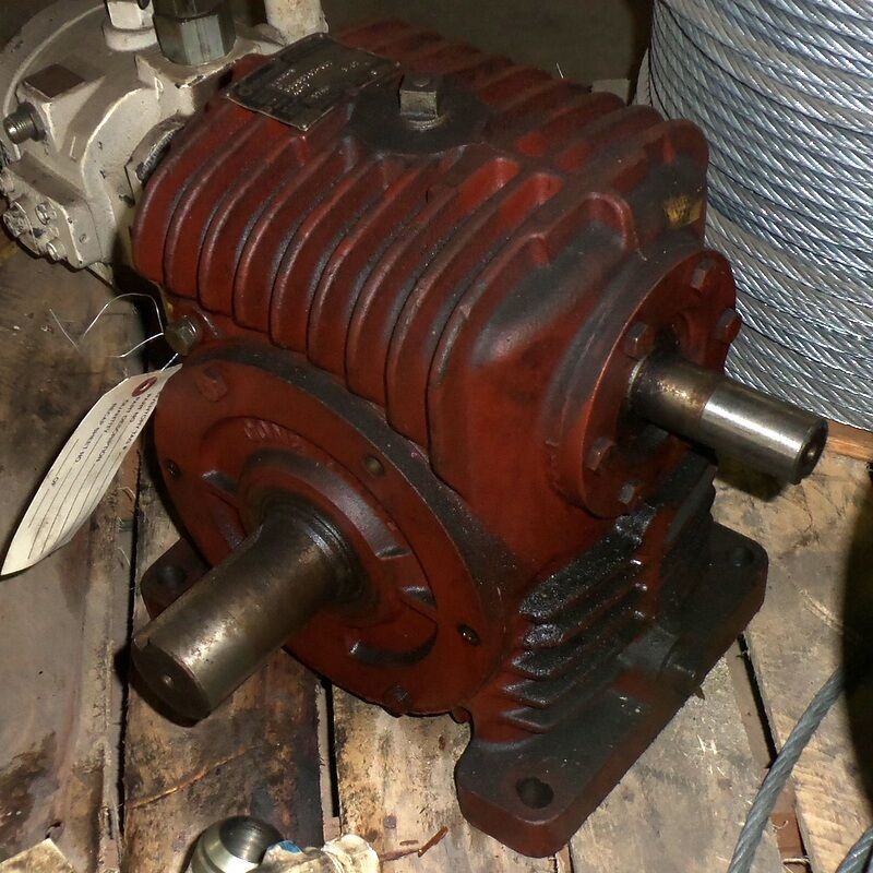 EX-CELL-O CORP 40:1 RATIO CONE DRIVE GEAR REDUCER H035-3