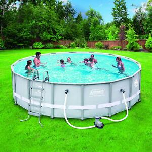 Coleman 15ft round pool