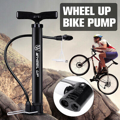 Bike Tyre Tires Manual Basketball Air Pump Inflator Tube Pump Inflatable -